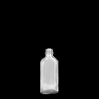 125 ml Meplatflasche - Klarglas - GL 22 Gewinde