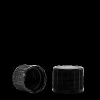 Verschluss - schwarz -  DIN 18 Gewinde