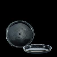 Deckel schwarz - HDPE -  für 30 Liter Deckelfass