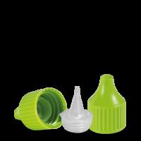 Verschluss Dosierspitze - grün - DIN 18 Gewinde